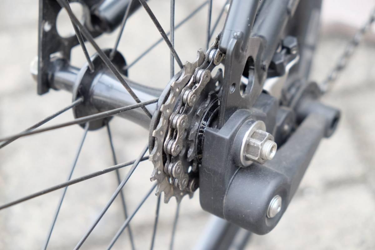 pengaturan internal gear, eksternal gear atau single speed sepeda lipat