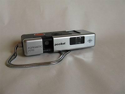 Kamera pocket terbaik pada masanya agfamatic 2000