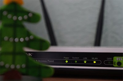 Router Wi-fi LED