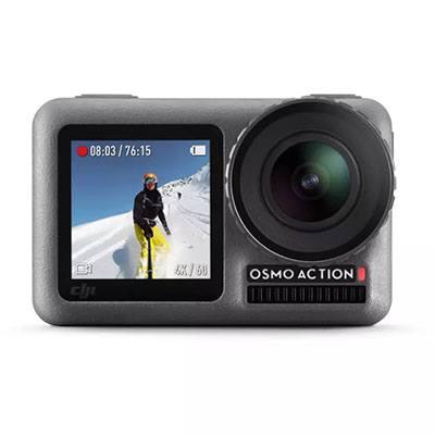 Selain drone dji juga memiliki action cam terbaik