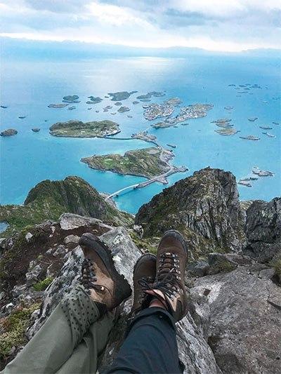 Sol Bergerigi pada sepatu gunung terbaik