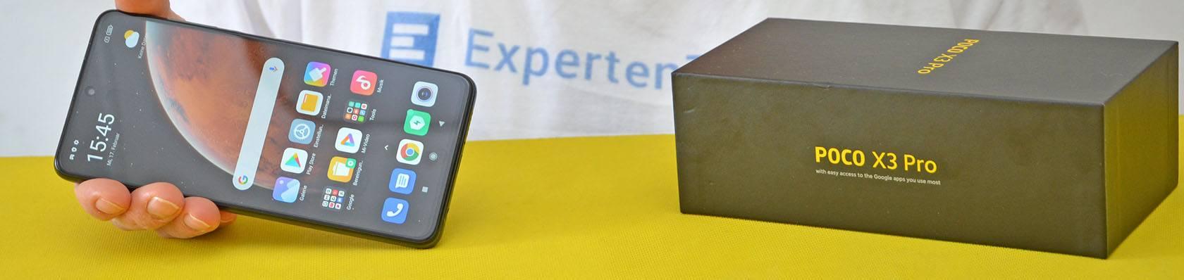 HP Android im Test auf ExpertenTesten.de