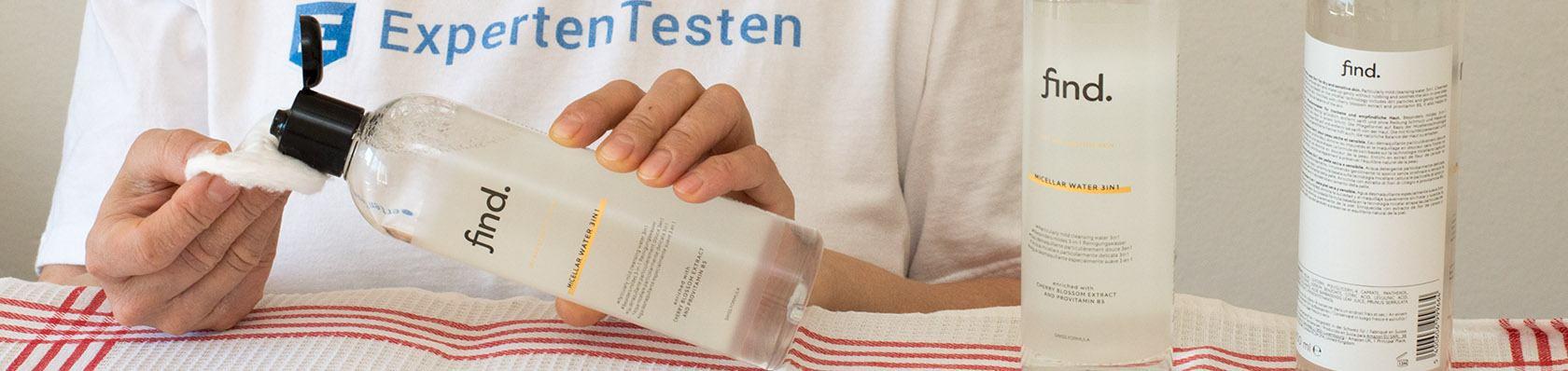 Micellar Water im Test auf ExpertenTesten.de